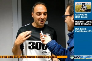 VIDEO| ULTIME DAI CAMPI | C.UISP Ov40 | A.Iannone (DEA CALCIO)