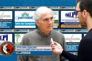 VIDEO| Intervista Vitaliano Casalena (UISP LEGA CALCIO TERAMO)