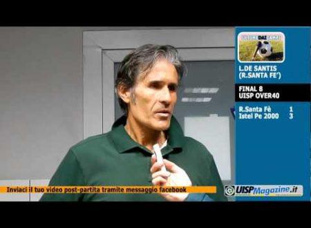 VIDEO| ULTIME DAI CAMPI | FINAL8 | De Santis (R.SANTA FE')