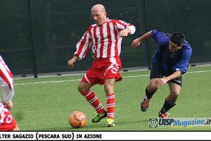OVER 40| COPPA UISP | Il Pescara Sud sogna: 3-1 alla quotata Pizzeria Mia
