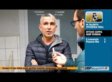 VIDEO| ULTIME DAI CAMPI | C.UISP Ov40 | Talento (PIZZERIA MIA)