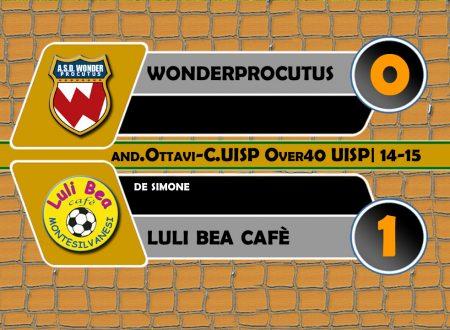 VIDEO| HIGHLIGHTS | C.UISP Ov40 | Wonder-Luli Bea 0-1