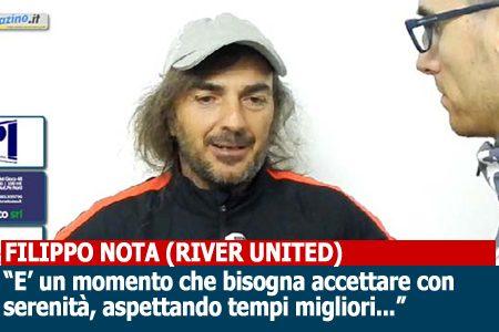"""10G A   Nota (River United): """"Aspettiamo momenti migliori, ma siamo duri a morire"""""""