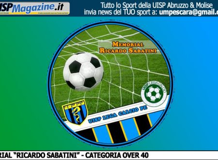 "UISP LEGA CALCIO | COMUNICATO N.07 OVER40 ""Memorial Ricardo Sabatini"""