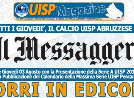 UISP IN EDICOLA | Accordo con Il Messaggero: Prima Uscita il 03 Agosto