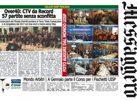 UISP IN EDICOLA | Giovedì 28 Dicembre la Mezza Pagina n°22