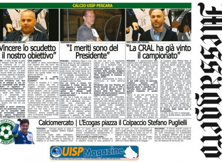 UISP IN EDICOLA | Giovedì 04 Gennaio la Mezza Pagina n°23