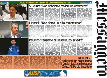 UISP IN EDICOLA | Giovedì 11 Gennaio la Mezza Pagina n°24