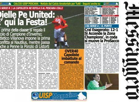 UISP IN EDICOLA | Giovedì 18 Gennaio la Mezza Pagina n°25