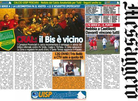 UISP IN EDICOLA | Giovedì 1°Febbraio la Mezza Pagina n°27