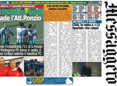 UISP IN EDICOLA | Giovedì 08 Febbraio la Mezza Pagina n°28