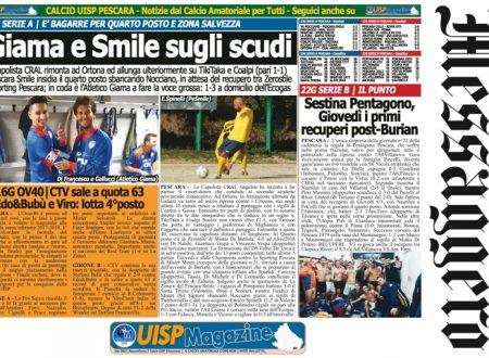 UISP IN EDICOLA | Giovedì 08 Marzo la Mezza Pagina UISP n°32
