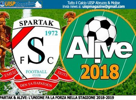 CALCIOMERCATO   Spartak 1972 e Alive 2018: l'Unione fa la forza