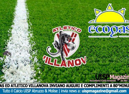 80esimo 200   Ecogas ed Atletico Villanova inviano il loro Messaggio di Auguri