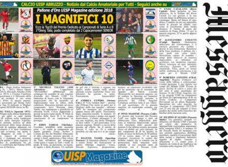 UISP IN EDICOLA | Giovedì 14 Giugno la Mezza Pagina UISP n°46