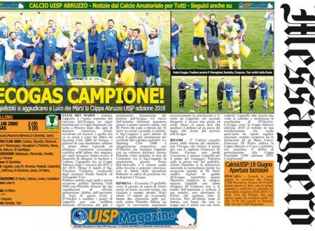 UISP IN EDICOLA | Giovedì 21 Giugno la Mezza Pagina UISP n°47