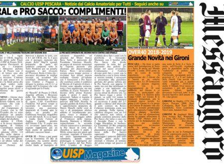 UISP IN EDICOLA | Giovedì 28 Giugno la Mezza Pagina UISP n°48