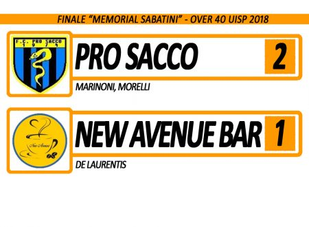 VIDEO | Finale Memorial Sabatini 2018: Pro Sacco VS New Avenue Bar