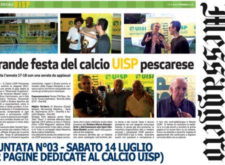 "UISP IN EDICOLA | Sabato 14 Luglio la 3^Puntata dello ""SPECIALE CALCIO UISP"""
