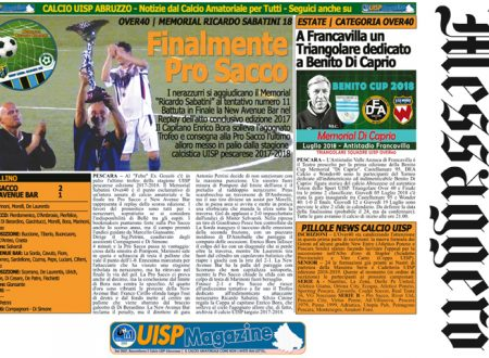 UISP IN EDICOLA | Giovedì 12 Luglio la Mezza Pagina UISP n°50
