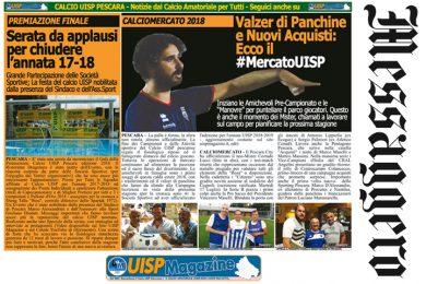 UISP IN EDICOLA | Giovedì 19 Luglio la Mezza Pagina UISP n°51
