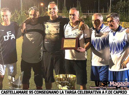 OV.40   Benito CUP   La Castellamare 95 si aggiudica la prima edizione del Memorial