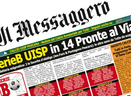 UISP IN EDICOLA | Giovedì 09 Agosto la Mezza Pagina UISP n°54