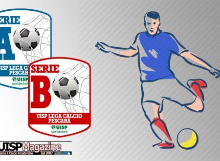 UISP CALCIO PESCARA | I Colori delle Divise Casalinghe della Serie A e della Serie B
