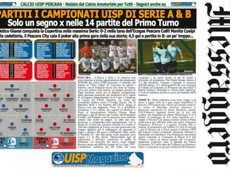 UISP IN EDICOLA | Giovedì 20 Settembre la Mezza Pagina UISP n°60