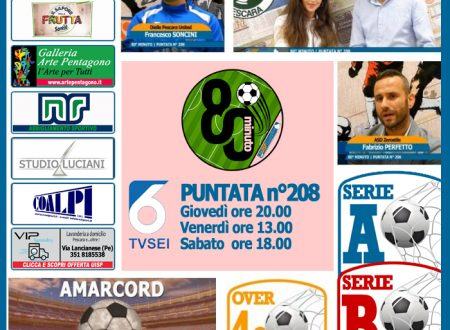 UISP IN TV   VIDEO   Guarda la Puntata n°208 di 80°Minuto