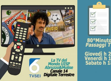 UISP IN TV | VIDEO | Guarda la Puntata n°206 di 80°Minuto
