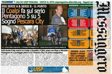 UISP IN EDICOLA | Giovedì 18 Ottobre la Mezza Pagina UISP n°64
