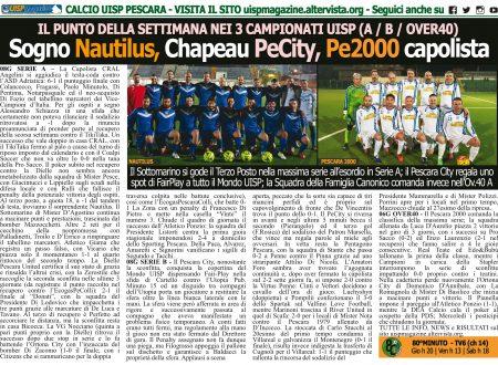 UISP IN EDICOLA | Giovedì 15 Novembre la Mezza Pagina UISP n°68 con Il Messaggero