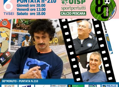 UISP IN TV   VIDEO   Guarda la Puntata n°210 di 80°Minuto