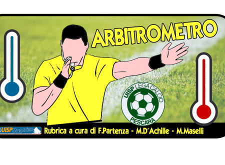 VIDEO RUBRICA | Guarda l'ARBITROMETRO UISP: Ottobre 2018