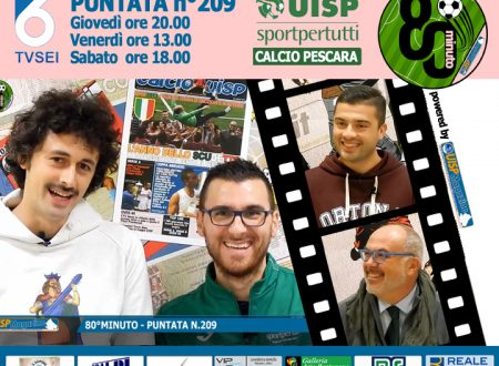 UISP IN TV   VIDEO   Guarda la Puntata n°209 di 80°Minuto