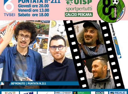 UISP IN TV | VIDEO | Guarda la Puntata n°211 di 80°Minuto