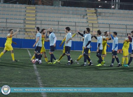 08G SERIE B | Pesante 0-3 dell'Utopia Pub, ma il Pescara City strappa applausi