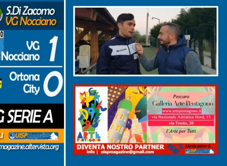 VIDEO | 09G SERIE A | Intervista Di Zacomo (VG Nocciano)
