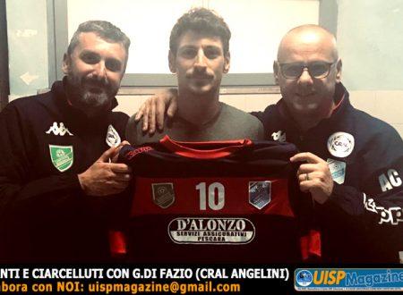 CALCIOMERCATO   Il CRAL Angelini presenta il sostituto di Mirko Panico
