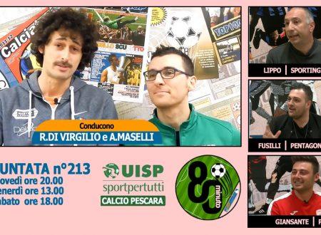 UISP IN TV | VIDEO | Guarda la Puntata n°213 di 80°Minuto