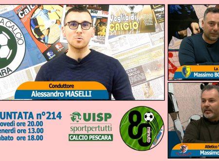 UISP IN TV | VIDEO | Guarda la Puntata n°214 di 80°Minuto