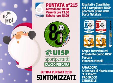 UISP IN TV | VIDEO | Guarda la Puntata n°215 di 80°Minuto