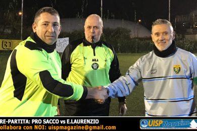 11 OVER40 | A | La Pro Sacco vince; pari ad occhiali tra CTV e Pe2000