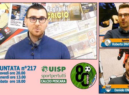 UISP IN TV | VIDEO | Guarda la Puntata n°217 di 80°Minuto