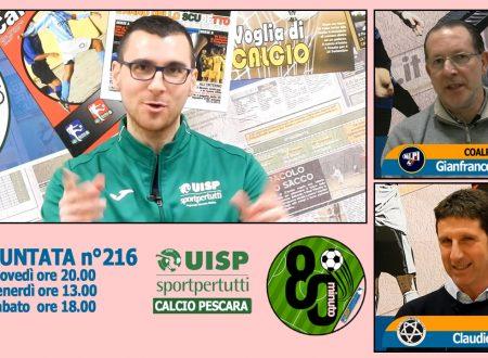 UISP IN TV | VIDEO | Guarda la Puntata n°216 di 80°Minuto