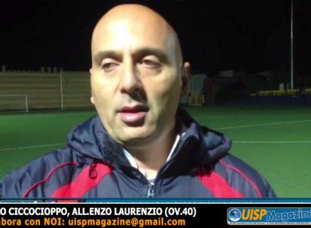 """OVER40   COPPA UISP   P.Ciccocioppo: """"Partita da X che si poteva sbloccare con un episodio"""""""