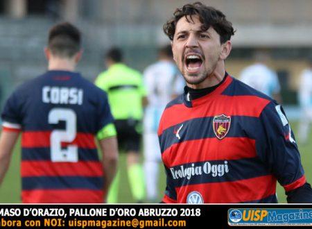 ORGOGLIO UISP | Il Pallone d'Oro Abruzzese 2018 con un passato nel nostro calcio
