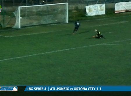 18G SERIE A | Al San Marco finisce 1-1 la sfida tra Atl.Ponzio ed Ortona City