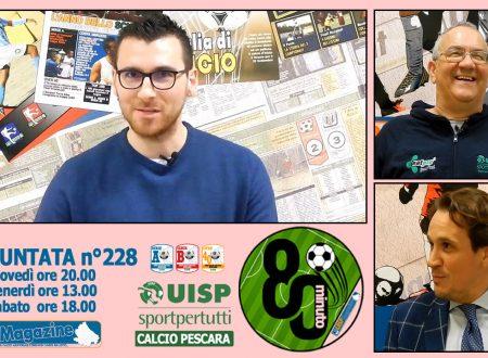 UISP IN TV | VIDEO | Guarda la Puntata n°228 di 80°Minuto